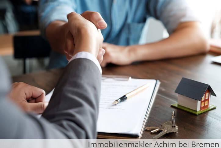Immobilienmakler vermittelt Immobilie in Achim bei Bremen.