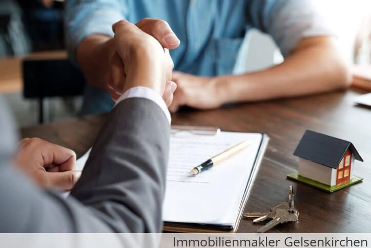 Immobilienmakler vermittelt Immobilie in Gelsenkirchen.