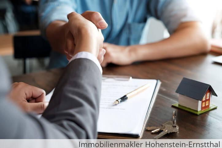 Immobilienmakler vermittelt Immobilie in Hohenstein-Ernstthal.