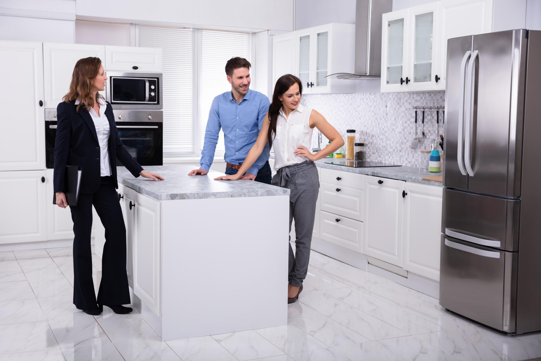 Einbauküche wirkt steuermindernd beim Hausverkauf.