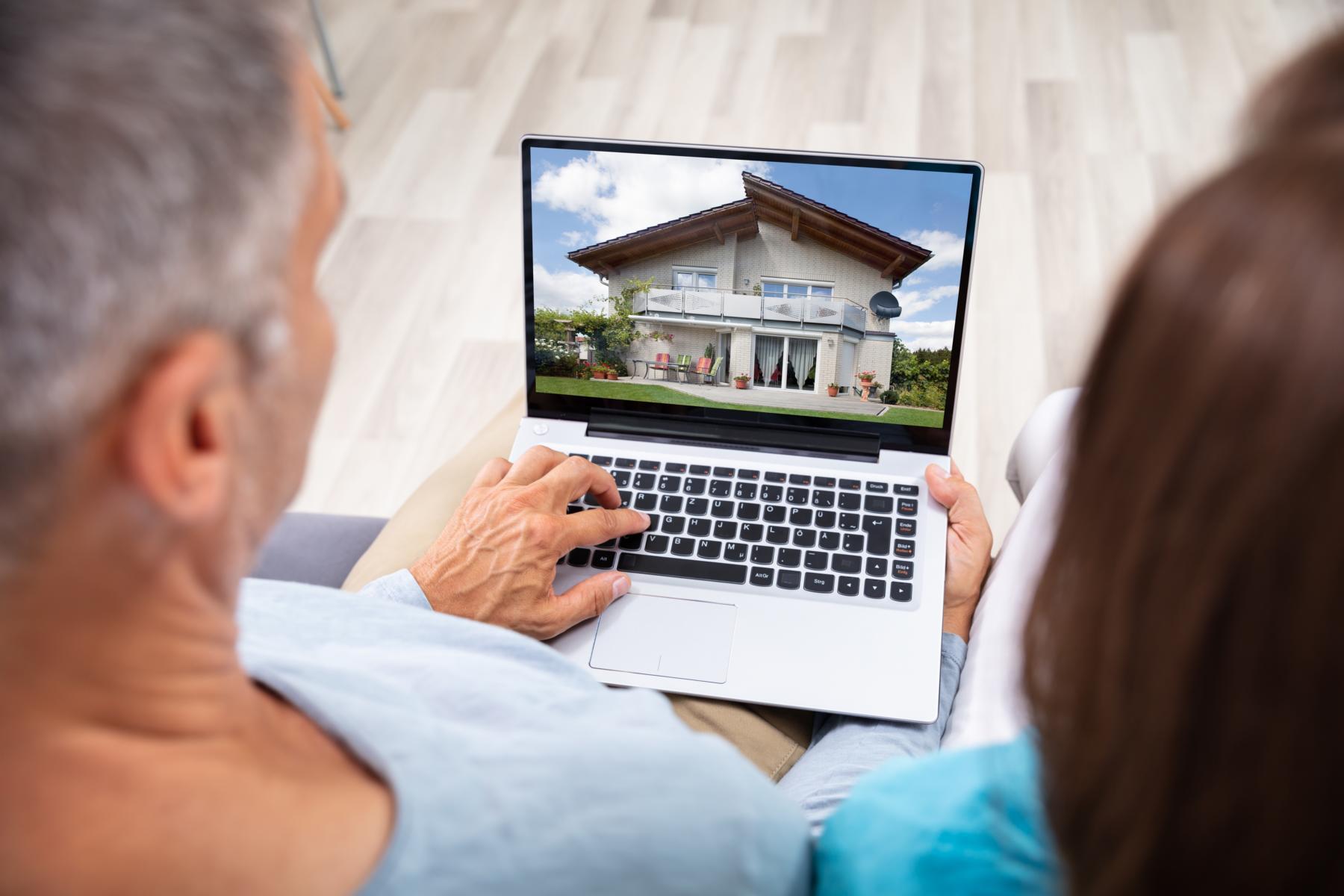Haus verkaufen im Internet.